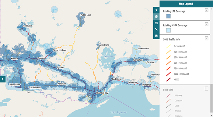 Northern Ontario Spatial Analysis Mapping