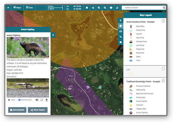 First Nation Community Web Maps